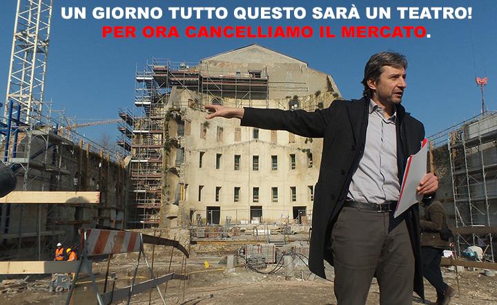 Gnassi come Augusto: la nuova piazza Malatesta? Per i prossimi 2000 anni siamo a posto