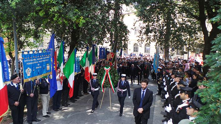 Tanta gente a Rimini per i 70 anni della Liberazione