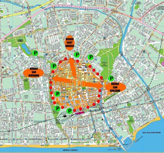Rimini significa mare, ma l'art director ridisegna il centro storico