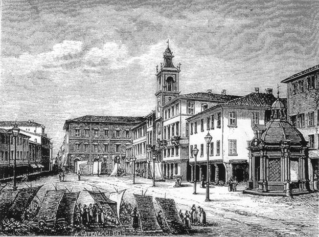 """Anche il mercato in piazza Tre Martiri """"com'era dov'era"""""""