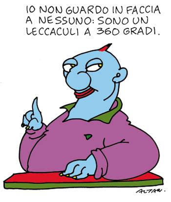 Paura nei giornali di Rimini, arriva Travaglio coi test sul virus del leccaculismo