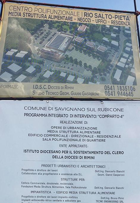 Affari immobiliari a Savignano per l'Istituto riminese per il sostentamento del clero