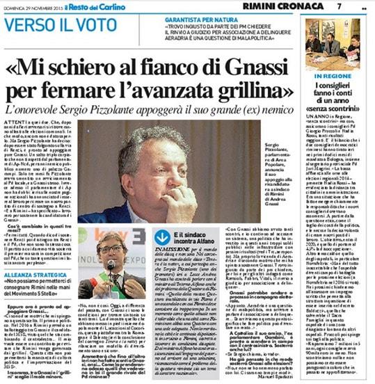 Sergio Pizzolante: partito craxiano si scopre gnassiano