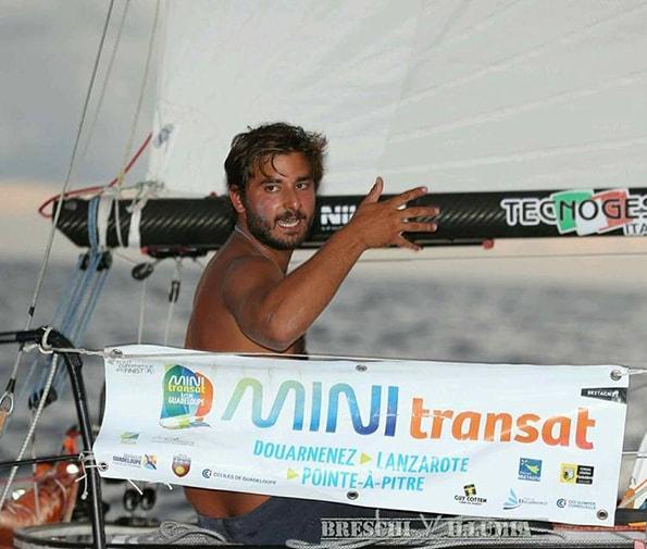 L'impresa di Michele Zambelli: il velista del Club Nautico di Rimini secondo alla Mini Transat
