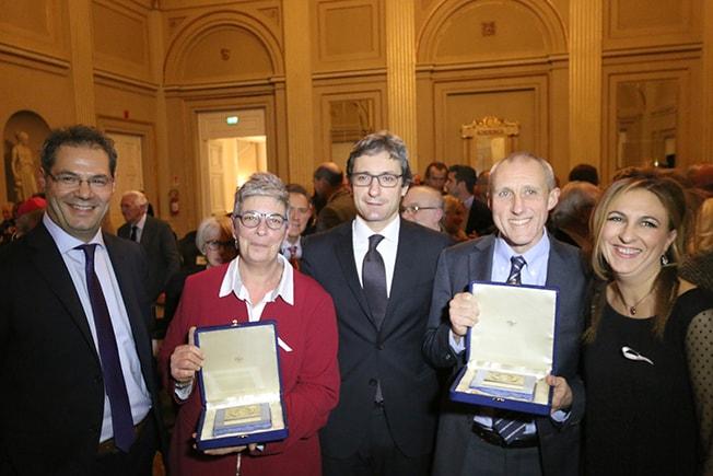 Gnassi d'oro: gran discorso ieri e commovente recupero sul castello medievale