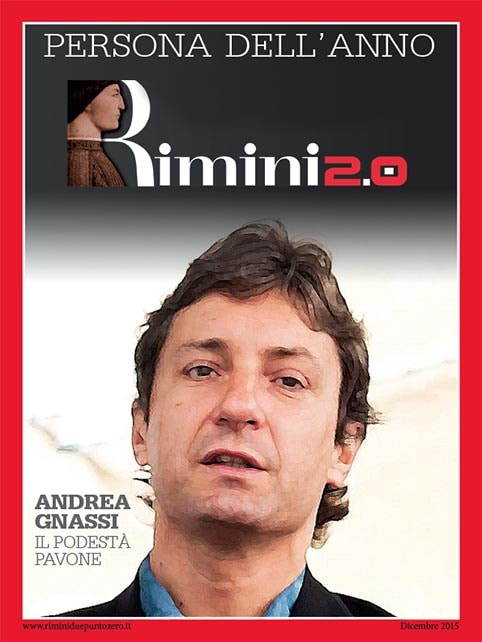 L'uomo dell'anno è Andrea Gnassi: il Podestà pavone