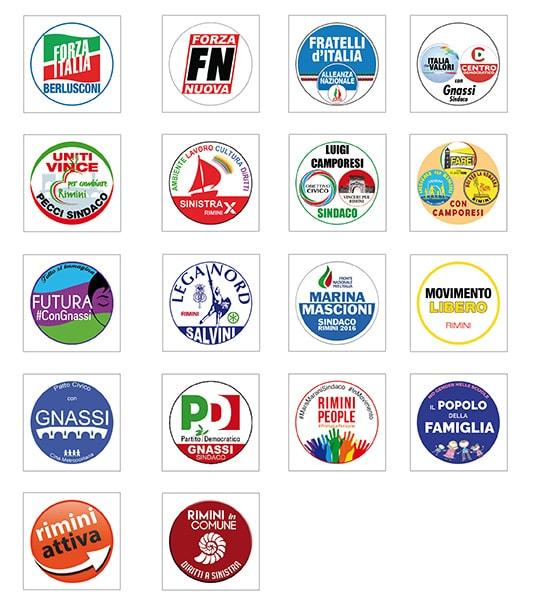 Al voto di Rimini arriva prima la destra (sulla scheda elettorale)