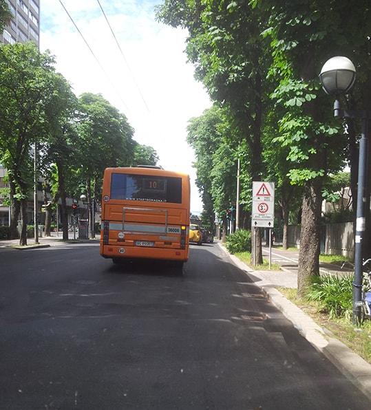 """I colossi emiliani del trasporto pubblico locale dietro i """"sanzionatori"""" sugli autobus di Rimini"""