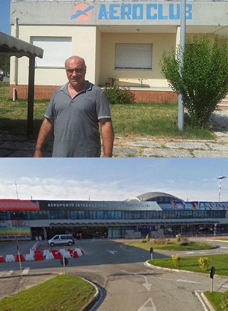 """E' scontro al """"Fellini"""": Airiminum blocca l'accesso alla sede dell'Aeroclub"""