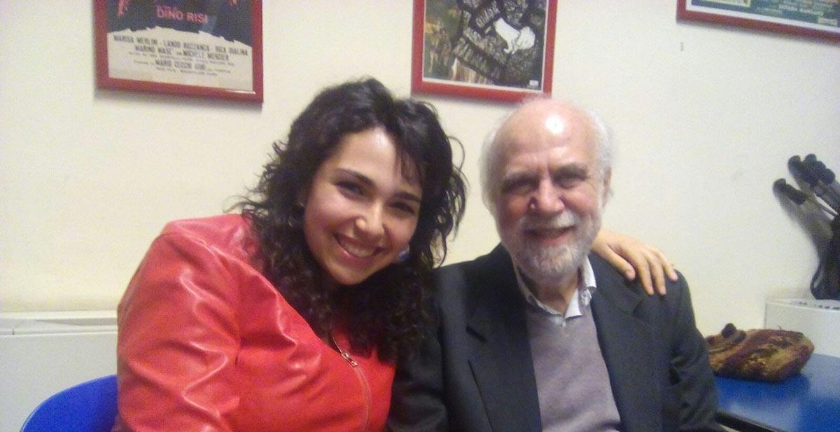 La riminese Monica Pollini autrice del libro intervista a Giuseppe Lanci