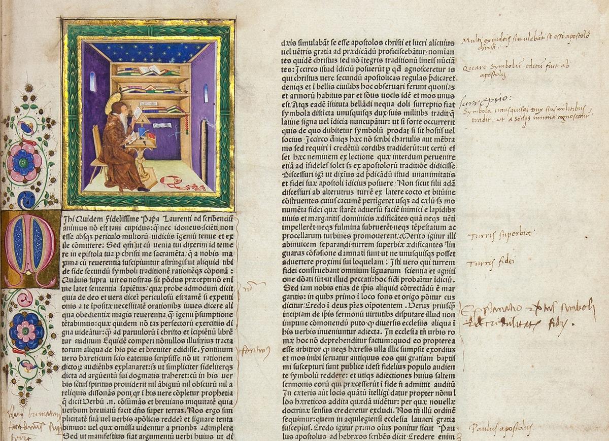 La Confraternita di San Girolamo espone i suoi tesori miniati