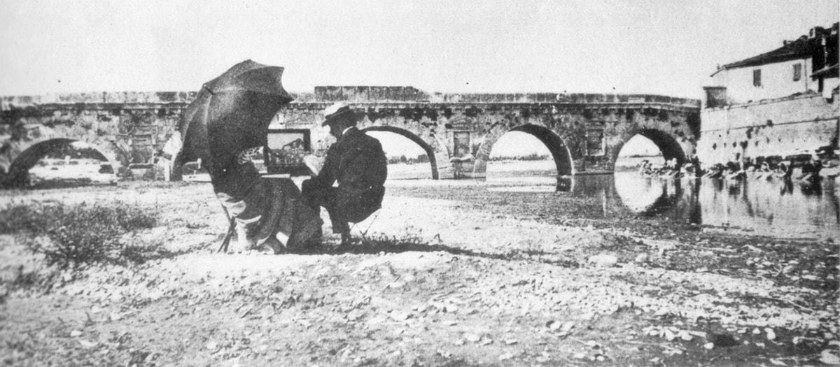Lo scempio al ponte di Tiberio continua. E ora tocca alle mura ottocentesche