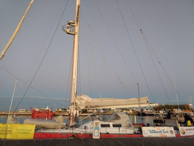 La barca a Vela Adriatica