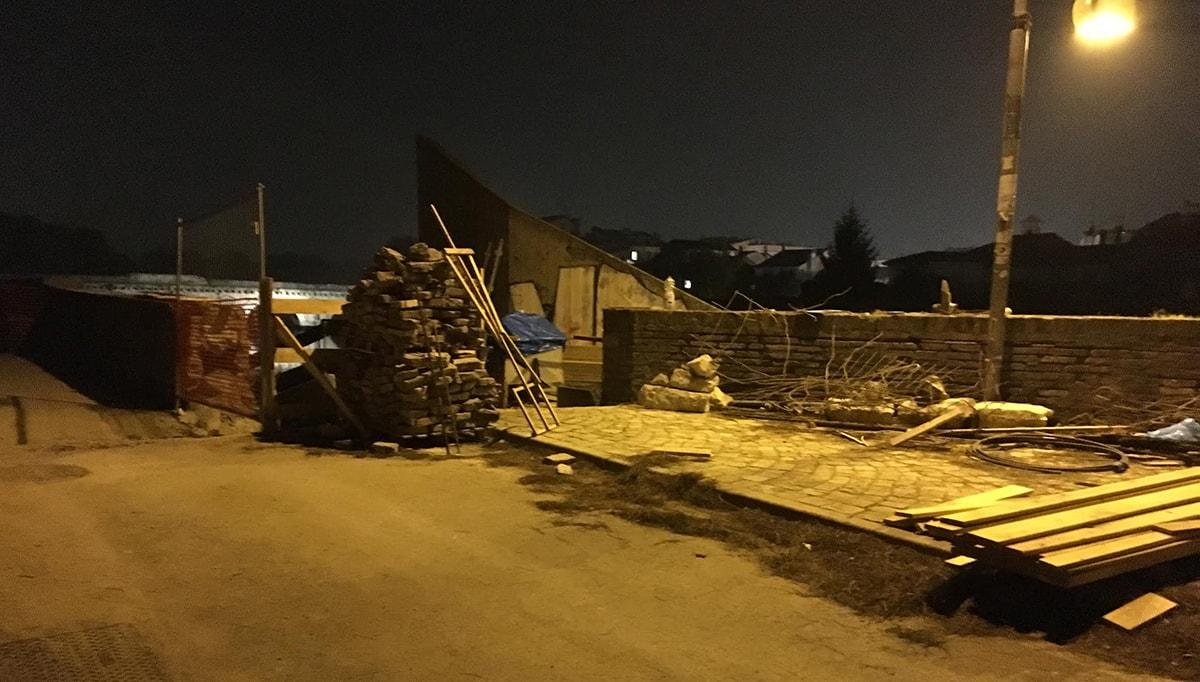 Mura malatestiane: un buco tira l'altro. Il Comitato porta video e foto in Procura