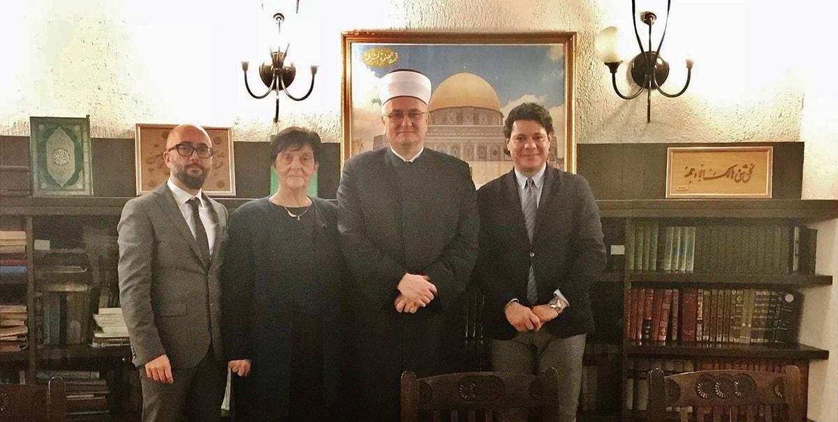 Emilia Guarnieri ha incontrato il Gran Muftì di Croazia: si lavora al Meeting di Zagabria
