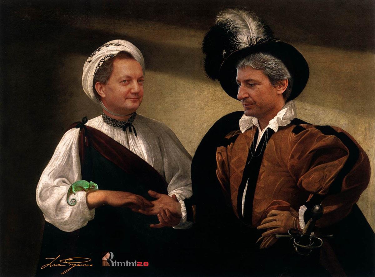 """Il Caravaggio venuto alla luce a Rimini: """"la buona sventura"""""""