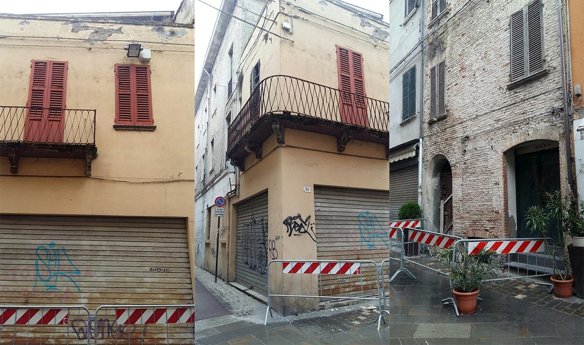 """Immobili degradati di via Garibaldi: """"Restauro a spese del Comune e pignoramento"""""""