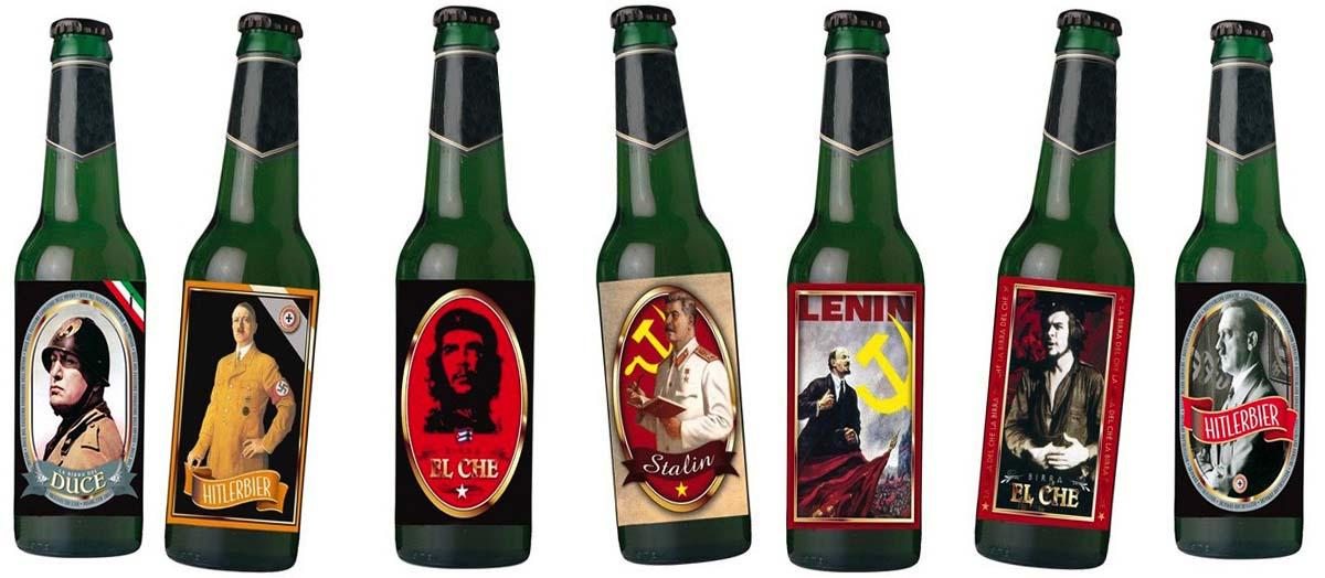 """Le """"birre nazifasciste"""" ripugnano agli antifascisti di casa nostra, quelle di Lenin no"""