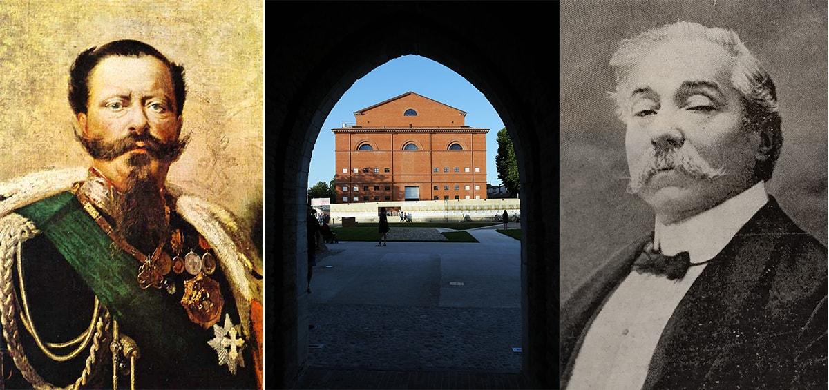 Come fu che il teatro di Rimini passò dal re d'Italia al compositore di Perticara