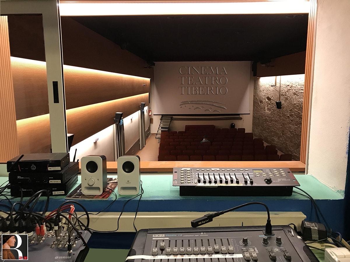 Cinema Teatro Tiberio: il gioiellino degli eventi digitali dalla vocazione culturale