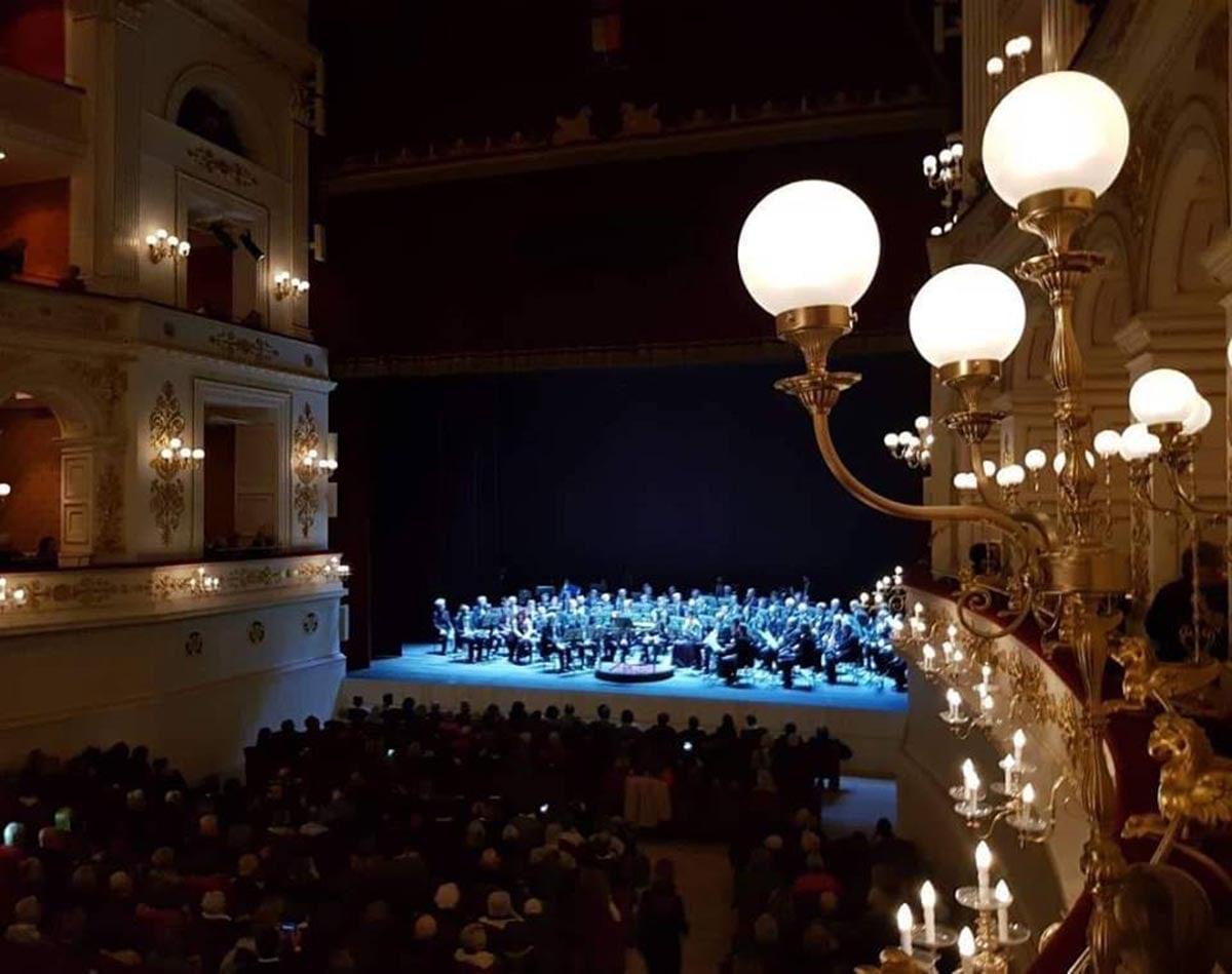 Applausi alla Banda Città di Rimini