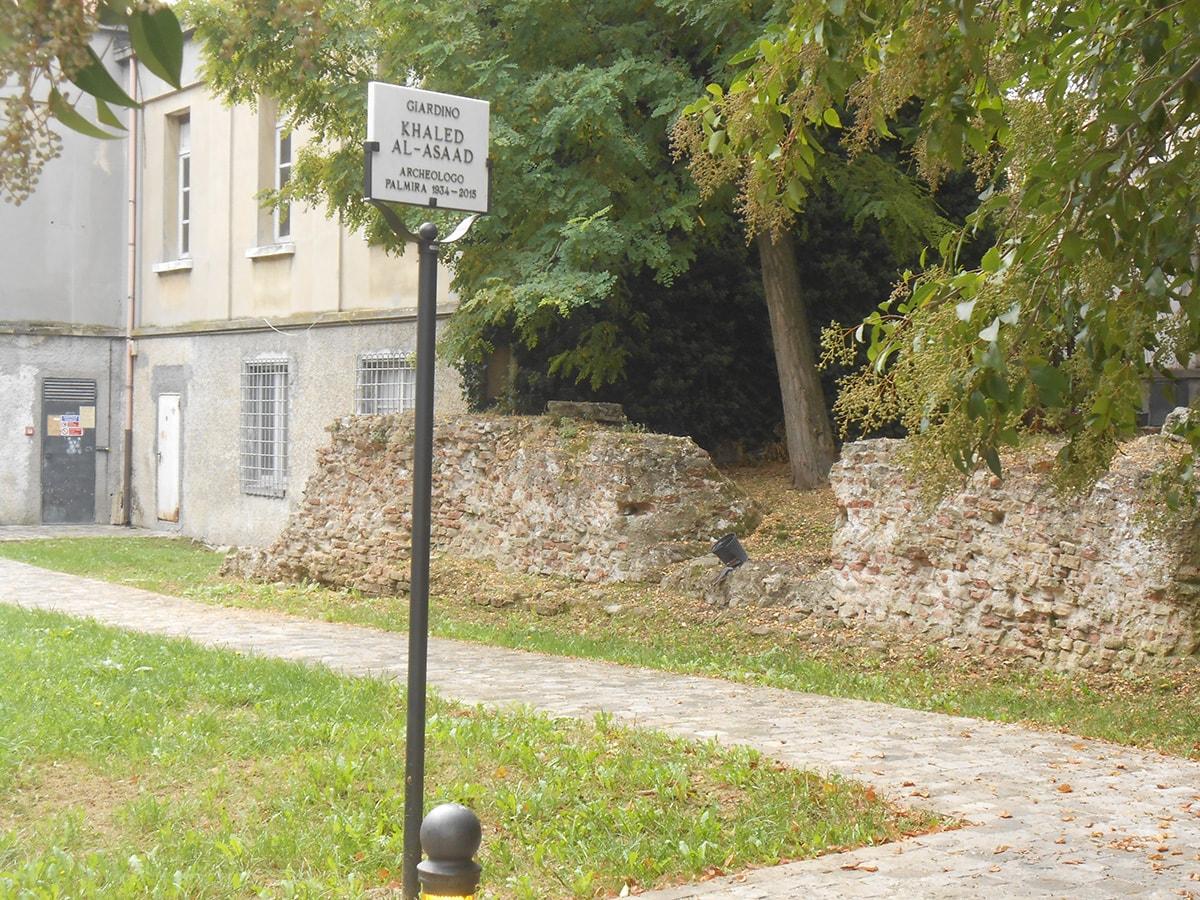 Le seconde mura romane imperiali a mare di Ariminum