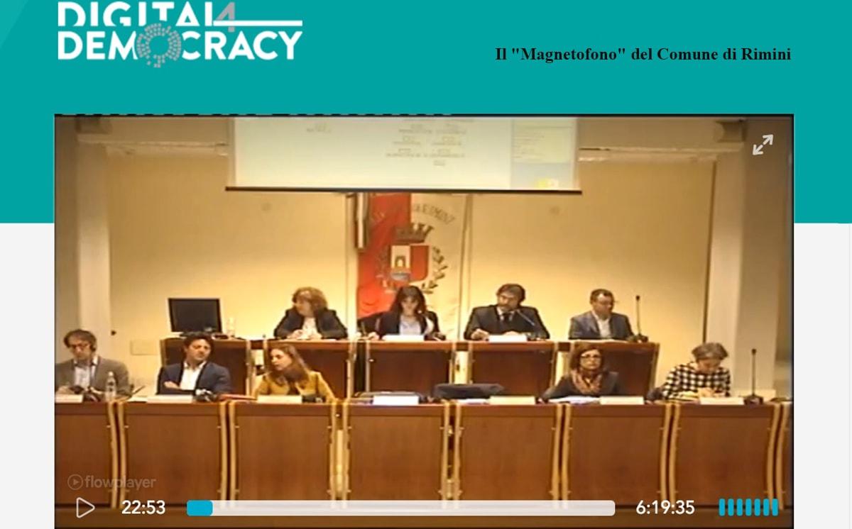 Togliete il bavaglio al consiglio comunale di Rimini