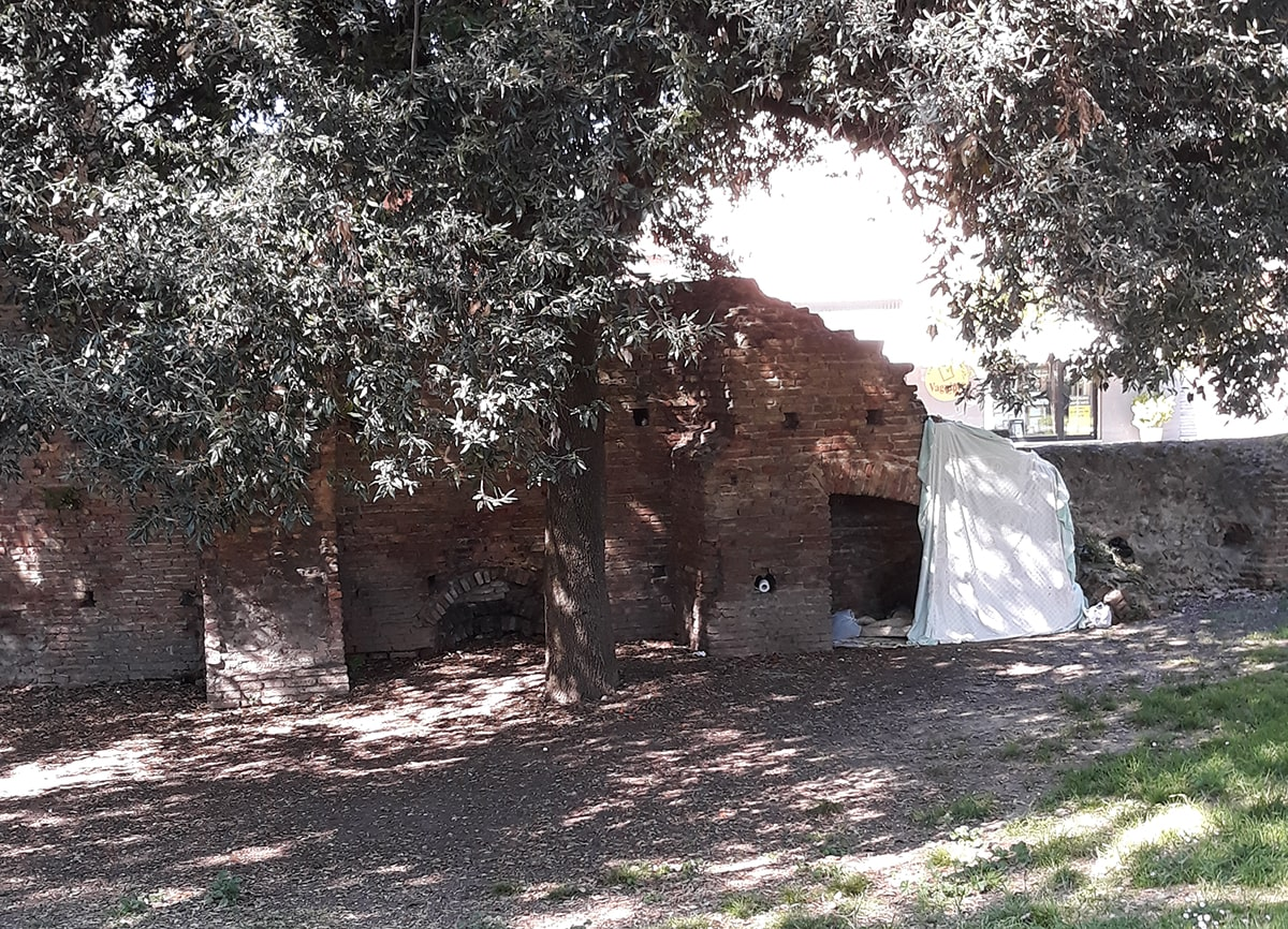 Monolocale ricavato nelle antiche mura