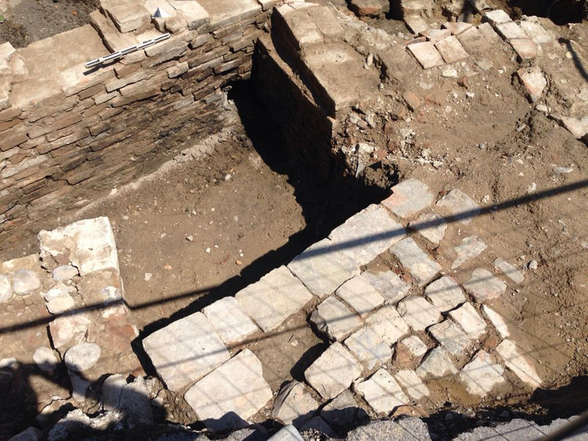 I resti di un ponte mettono in pausa i lavori Psbo