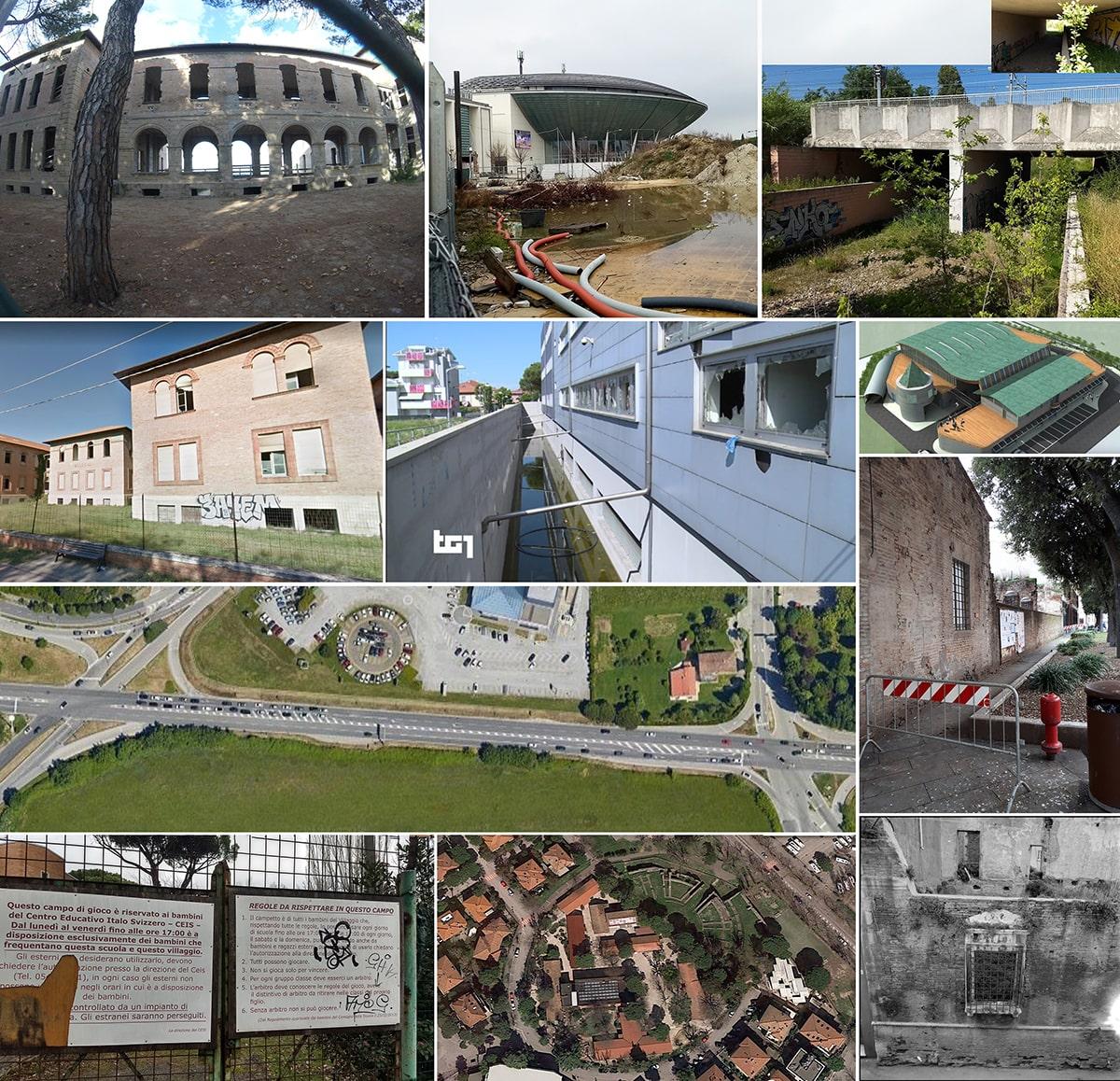 Le grandi incompiute di Rimini