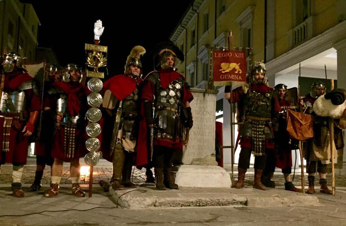 Il Cammino dei Cesari arriva a Rimini il 12 gennaio