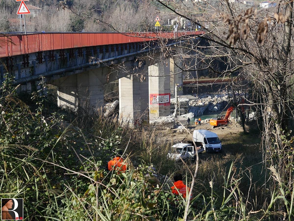 Il ponte di Verucchio rimarrà chiuso a lungo: disagi sulle spalle dei cittadini, ma chi paga i danni?