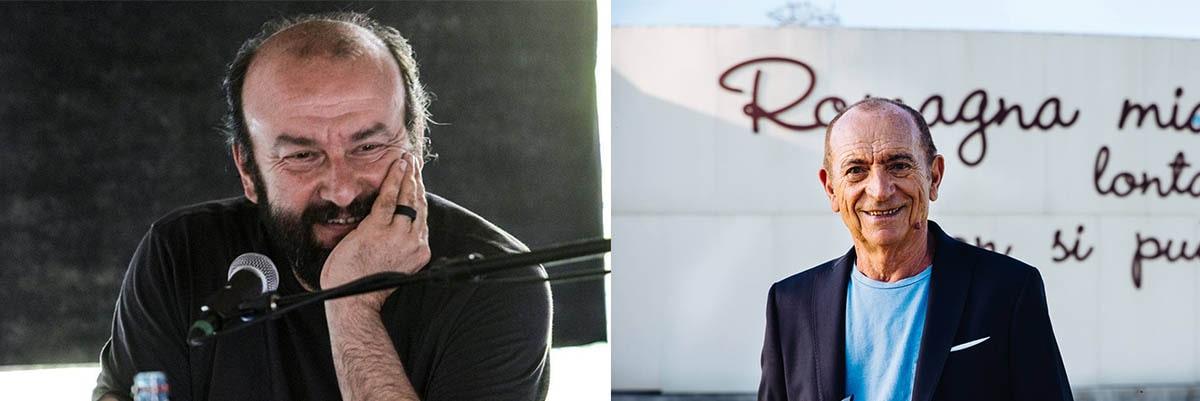 Liscio e busso: Raoul Casadei e Davide Rondoni, tresette col voto