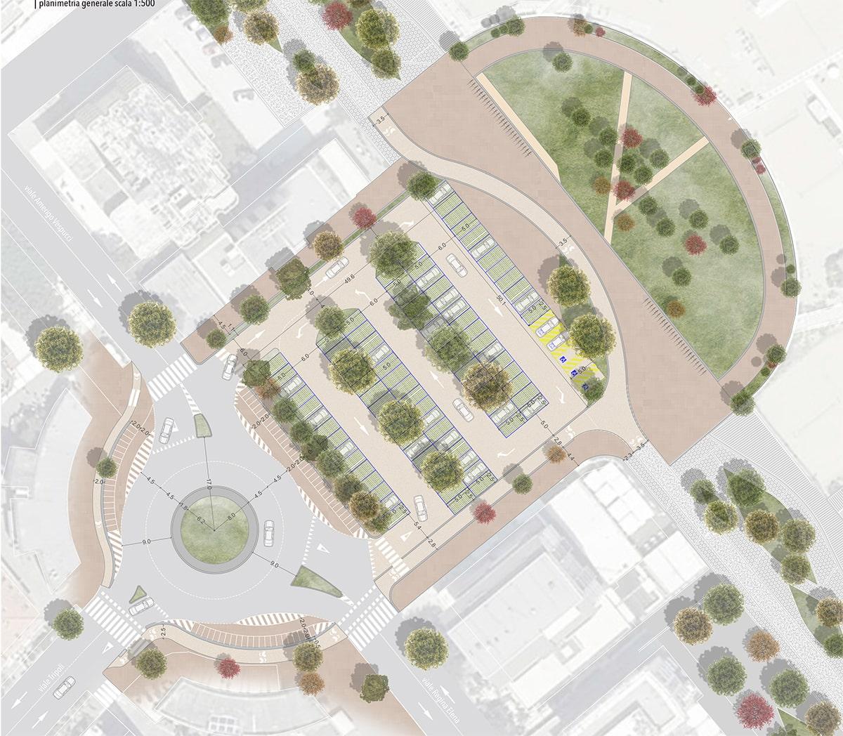 Piazzale Marvelli: solo 88 posti auto a servizio del lungomare pedonalizzato