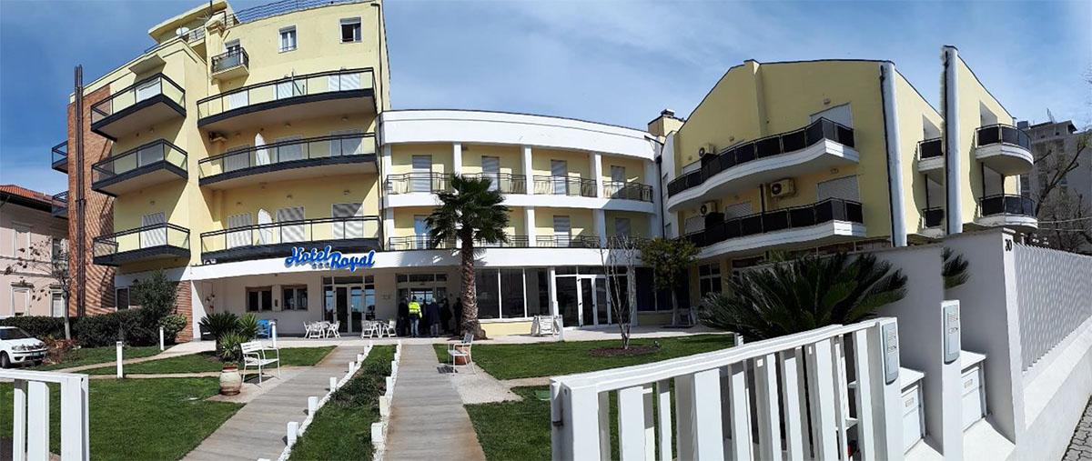 I pazienti covid all'Hotel Royal di Cattolica costano all'Ausl quasi 400mila euro
