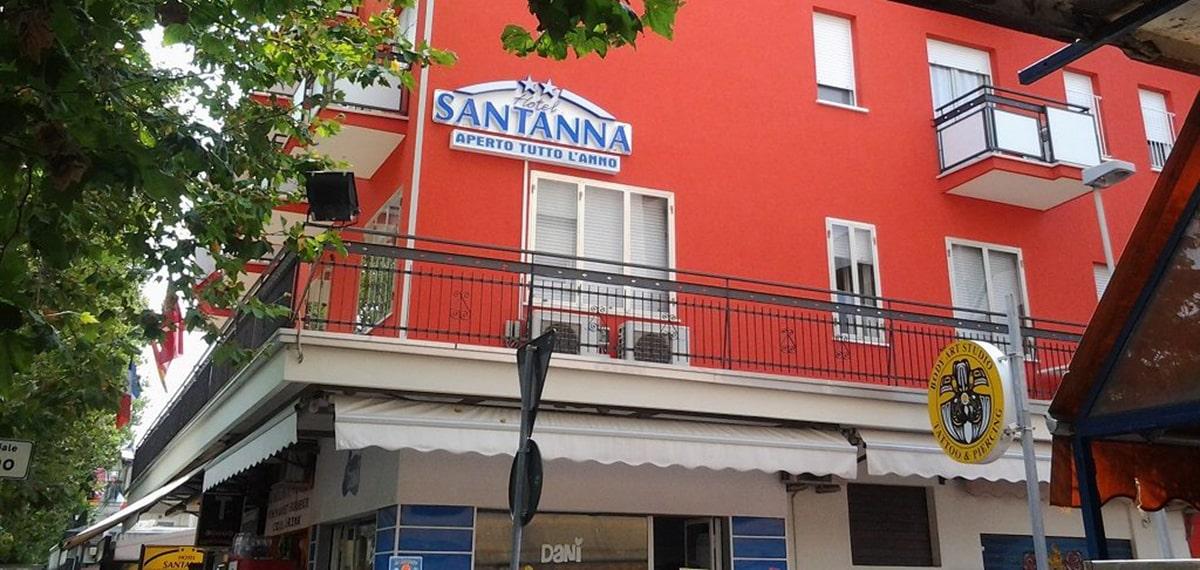 Anche Rimini ha l'hotel per i pazienti in quarantena: è il Santanna