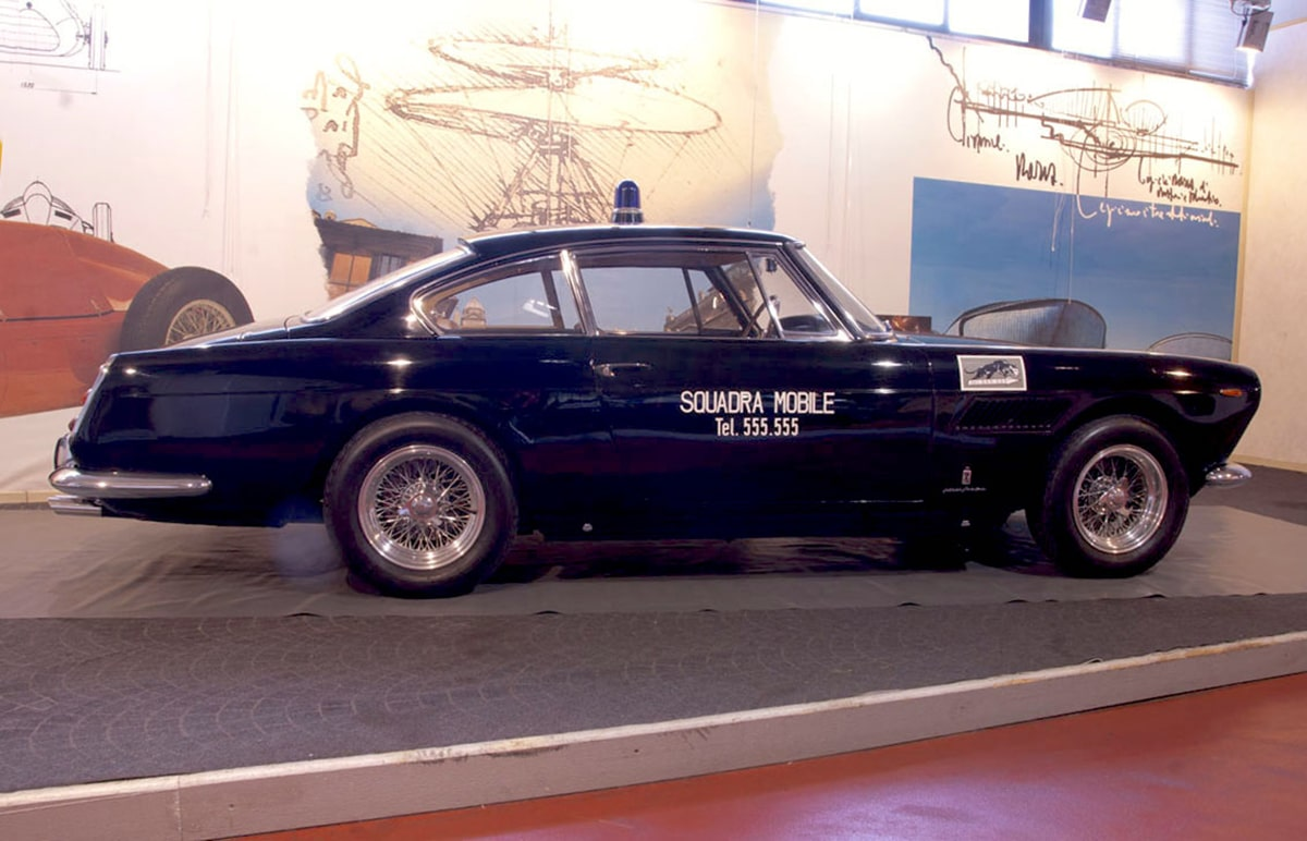 """La storia riminese nella """"pantera"""" Ferrari e il crowdfunding per farla tornare alla polizia"""