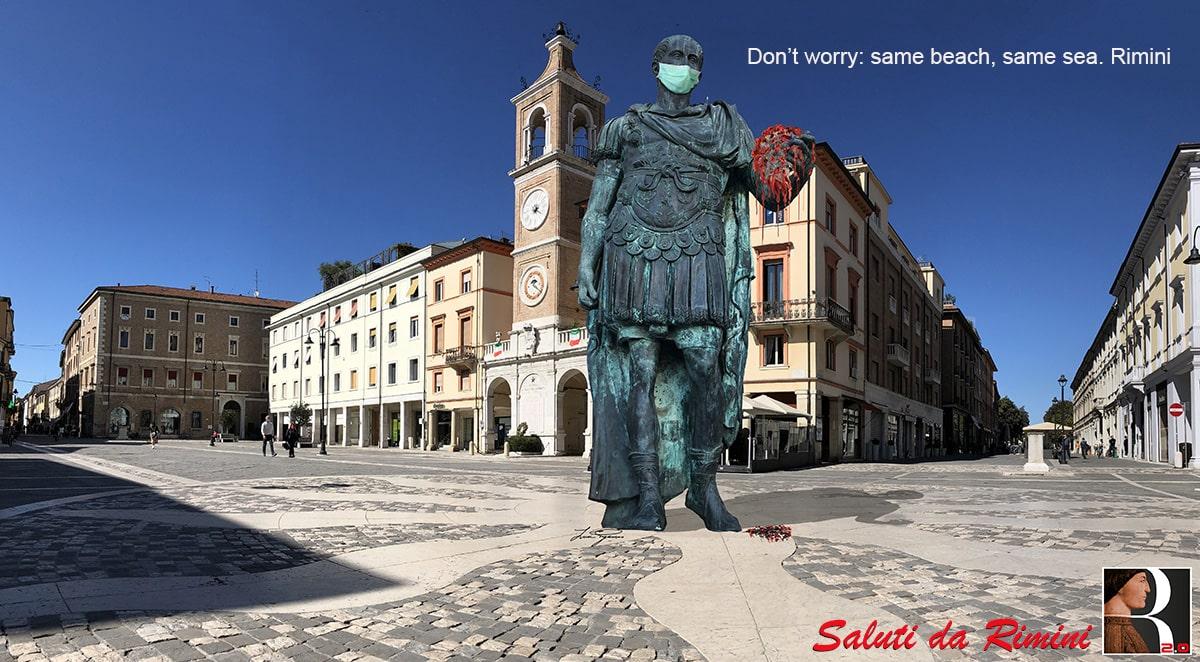 Testimonial eccellenti per Rimini: si parte con Giulio Cesare