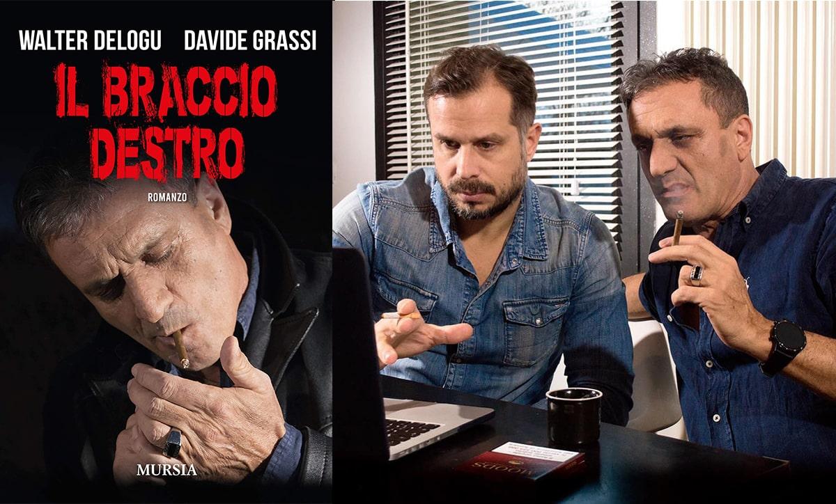 """""""Il braccio destro"""": caduta e volo nel romanzo di Walter Delogu e Davide Grassi"""
