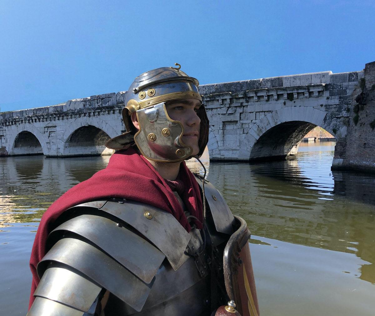 L'evento unico della Legio XIII all'invaso del ponte di Tiberio