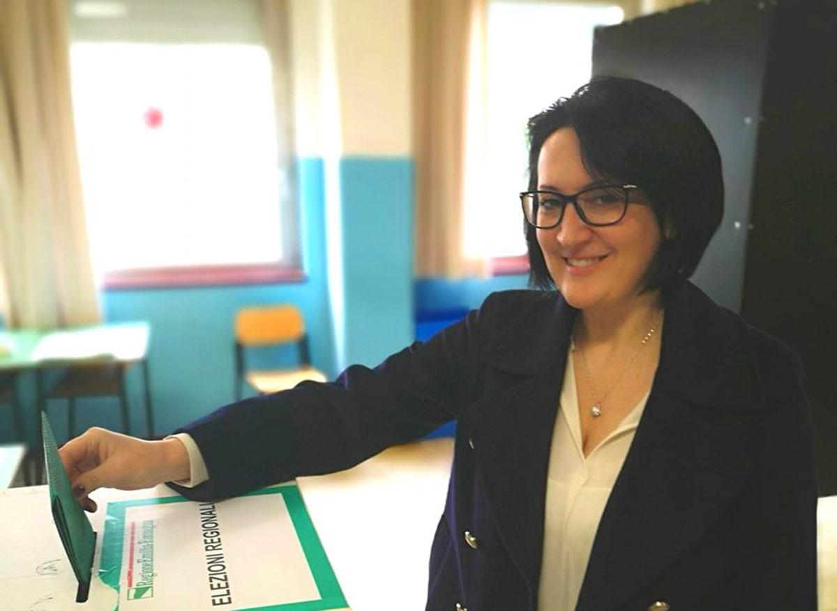 Emma Petitti prepara la discesa in campo
