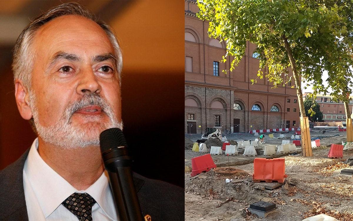 """L'ex direttore dei musei comunali: """"Il nuovo spazio felliniano non ha tenuto conto dei ritrovamenti archeologici già noti"""""""