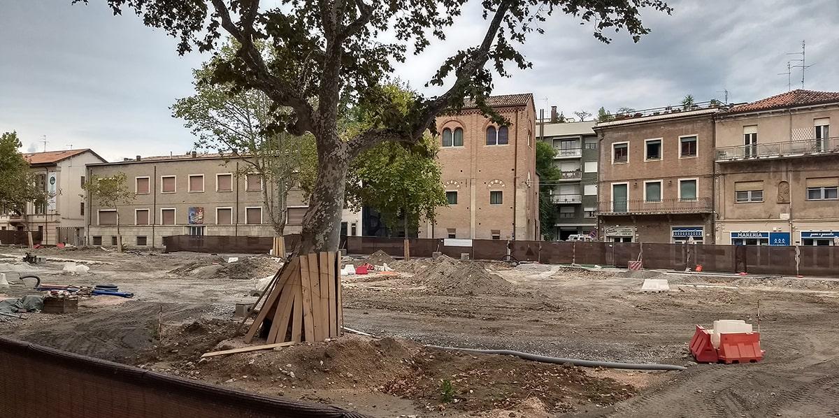 Cantiere archeologico di piazza Malatesta: domani sarà il giorno della verità?