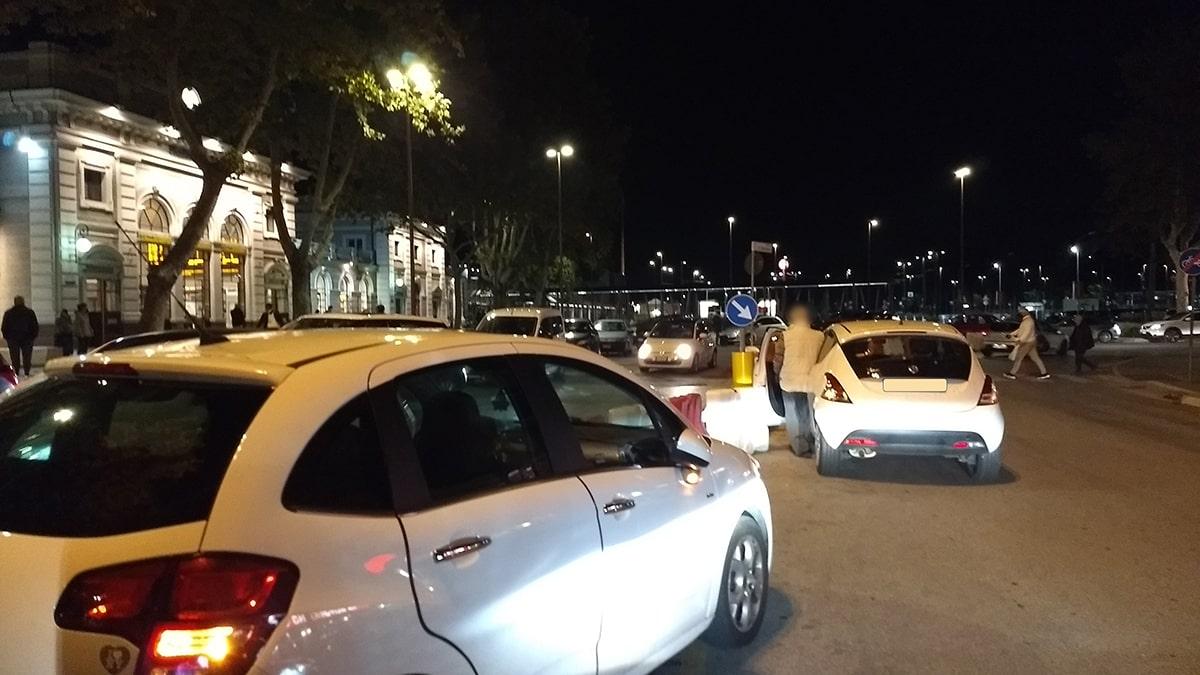 Caos stazione: traffico in tilt grazie alla nuova riorganizzazione dell'area