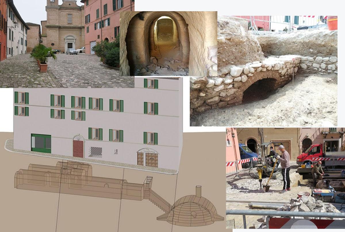 La Lega chiede lumi sulle «presunte violazioni nell'area archeologica di piazza Balacchi»