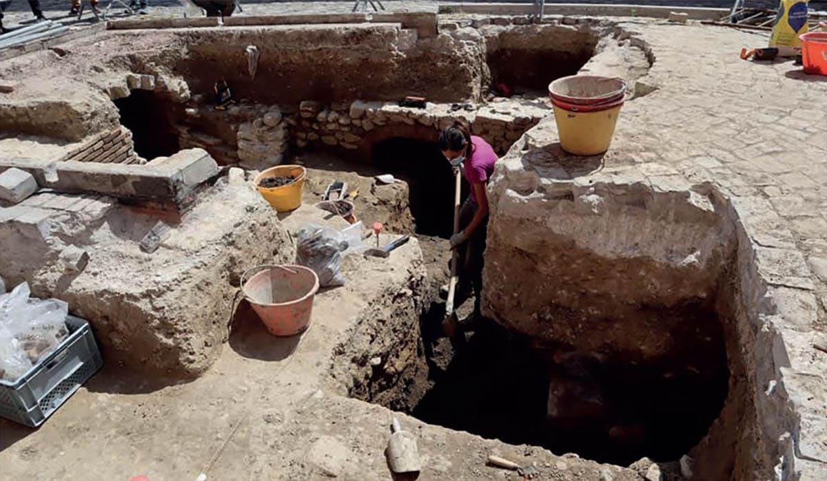 L'area archeologica di Santarcangelo sotto la lente del nucleo Tpc dei carabinieri e della Soprintendenza