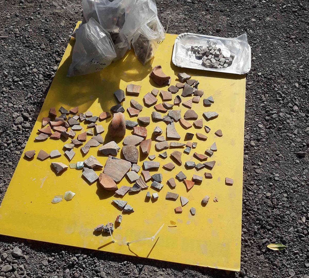 Nuovi ritrovamenti archeologici in via Melozzo da Forlì