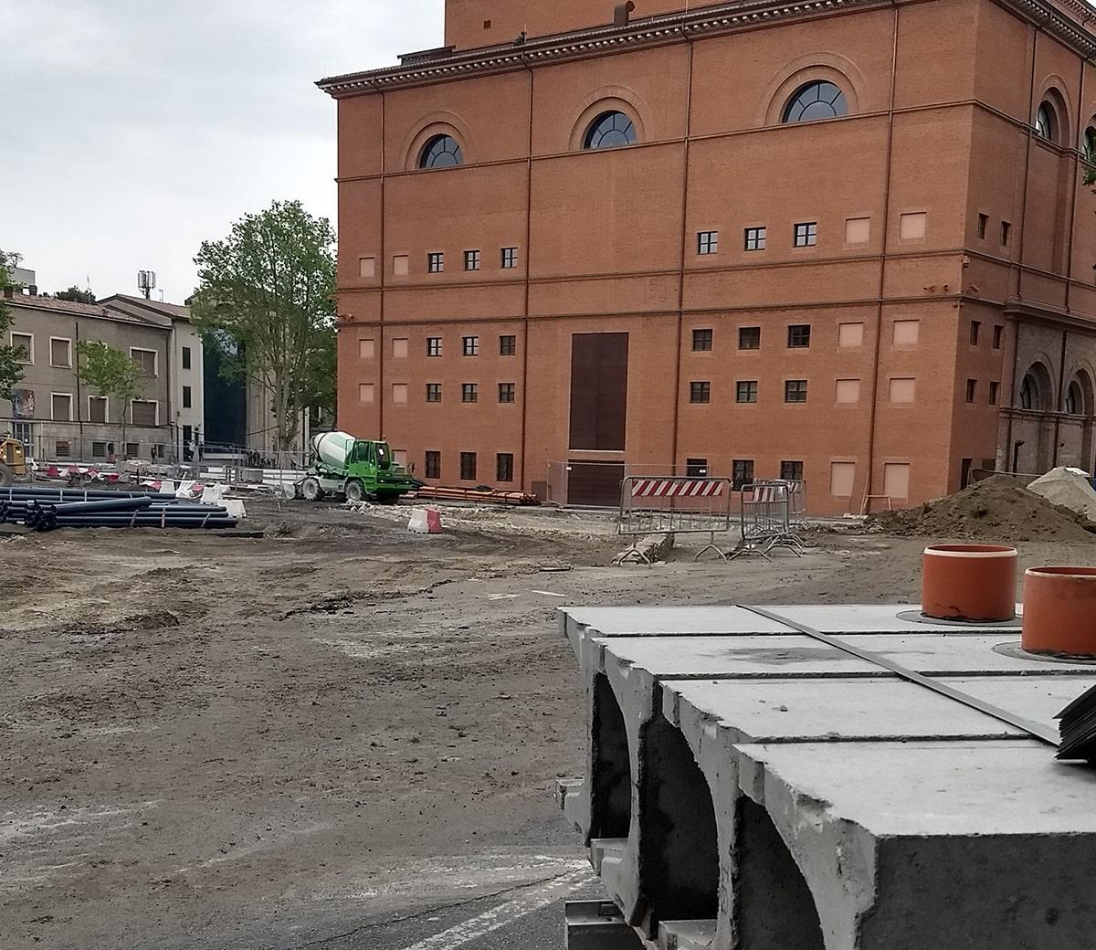 In piazza Malatesta emergono nuove tracce preziose della storia di Rimini, ma che fine fanno?