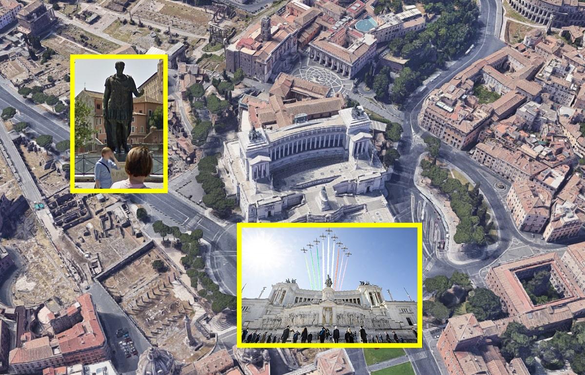 Ecco spiegato l'esilio imposto dalla giunta alla statua di Cesare: Anpi non la vuole in piazza