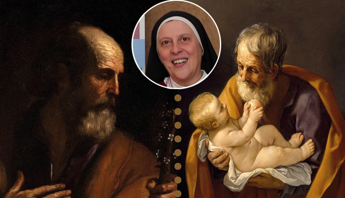 Maria Gloria Riva spiega i dipinti di Reni e Guercino e san Giuseppe nella storia della salvezza